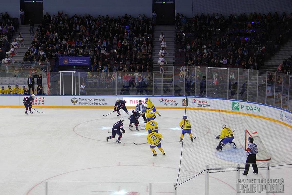 Юниорская хоккейная сборная Республики Беларусь вышла вплей-офф чемпионата мира